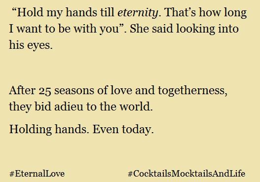 Brevity Series – Chapter 8 #EternalLove