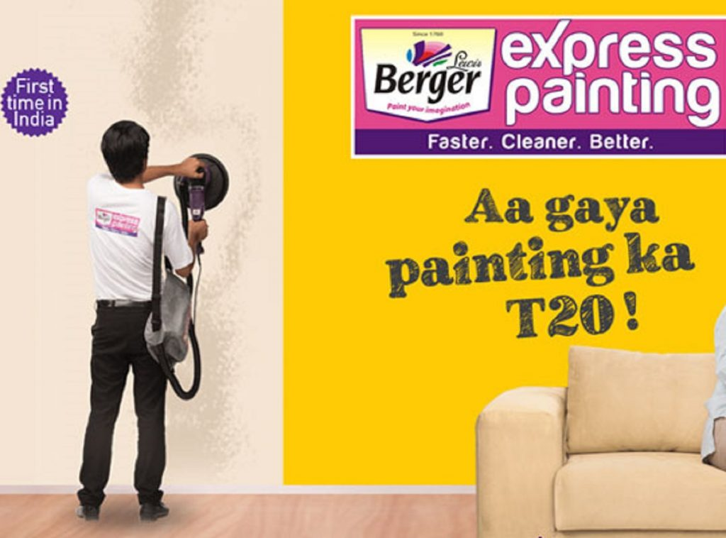 Berger Promises Illusion Walls Using Express Painting